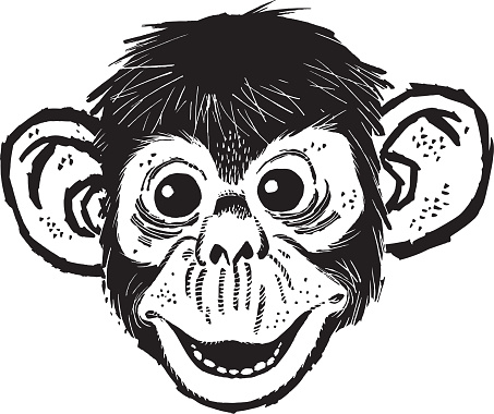 Illustration of monkey