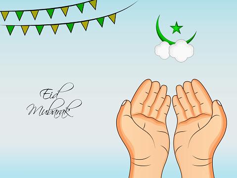 이슬람 축제 이드 배경 그림 0명에 대한 스톡 벡터 아트 및 기타 이미지