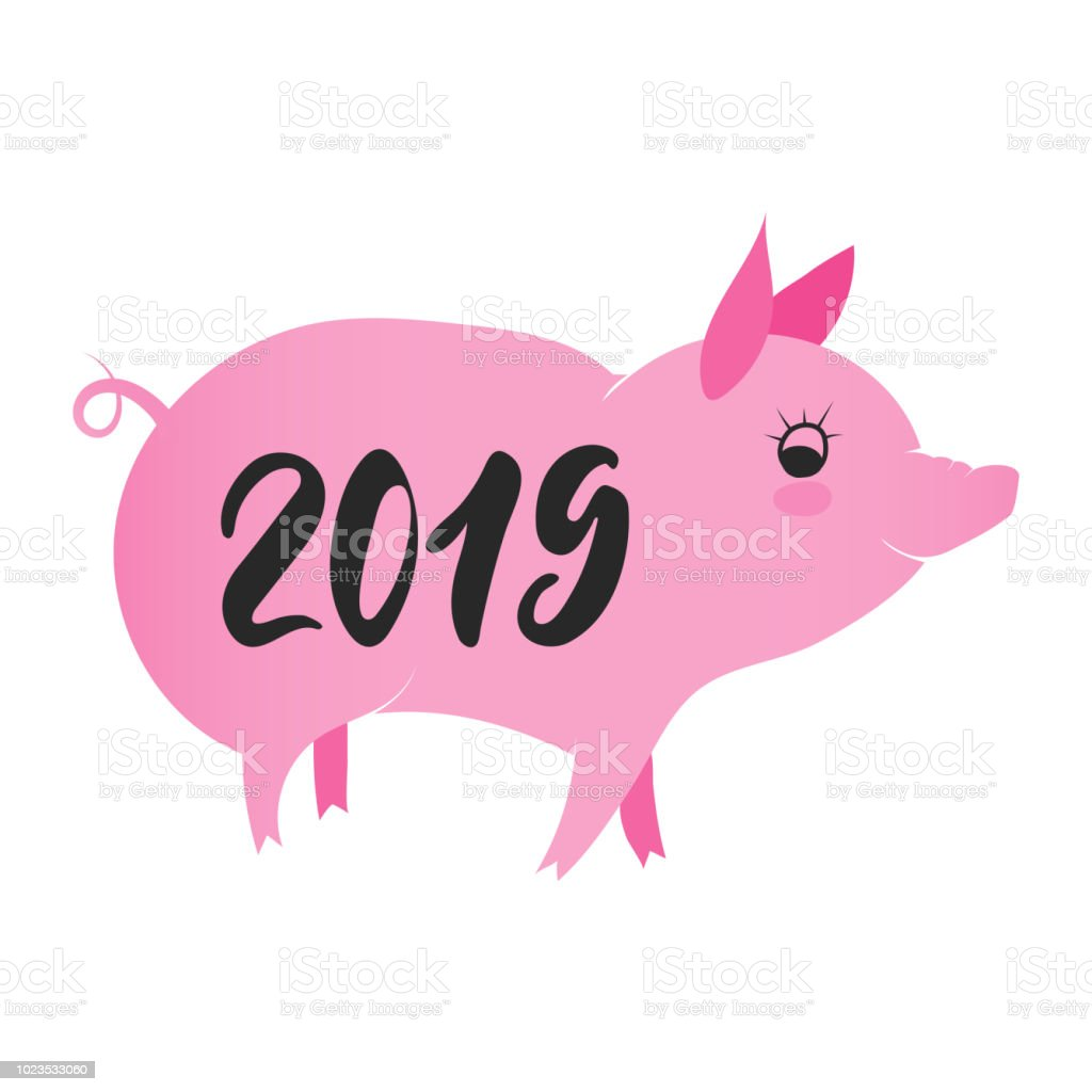 Pig - a symbol of 2019 do it yourself 44