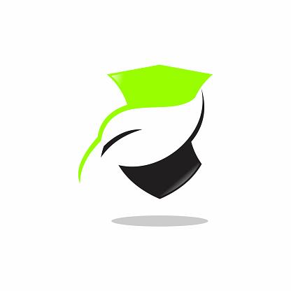 Illustration of protective color logo design