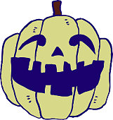 Illustration of pumpkin