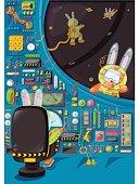 Illustration of Rabbit Pilot's Gang