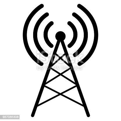 Illustration Von Radio Antennensymbol Stock Vektor Art und mehr ...