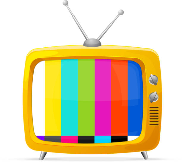 Royalty Free Tube Tv Clip Art, Vector Images ...