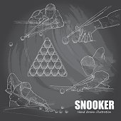 illustration of Snooker