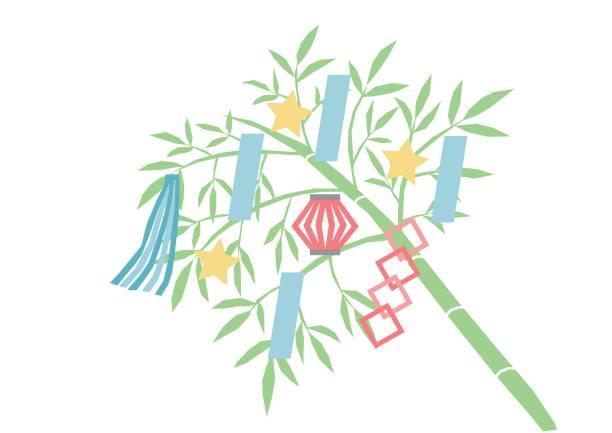 3 つ星 festival(ornaments) のイラスト - 七夕点のイラスト素材/クリップアート素材/マンガ素材/アイコン素材