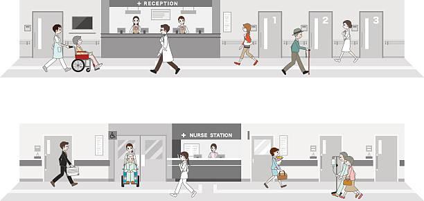 イラストレーションの病院 - 診察室点のイラスト素材/クリップアート素材/マンガ素材/アイコン素材