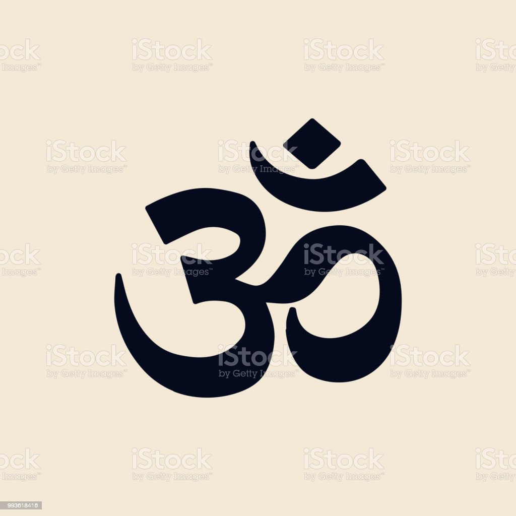 Illustration Of The Indian Om Symbol Stock Vector Art More Images