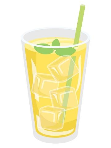 Illustration of the lemon juice