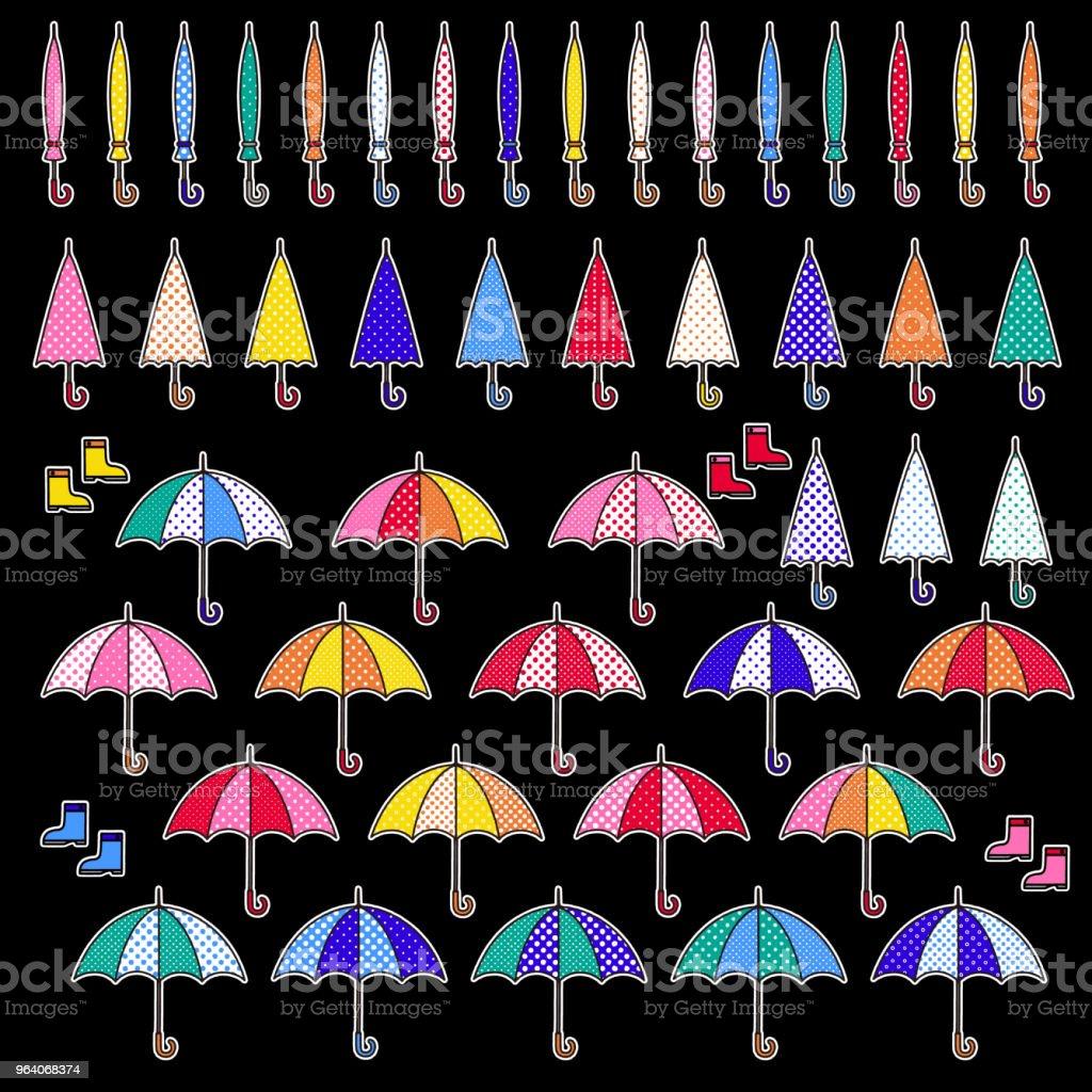 Illustration of the umbrella, - Royalty-free Beauty stock vector