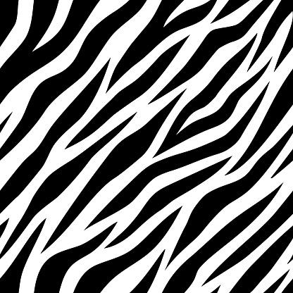 Illustration of tiger pattern background