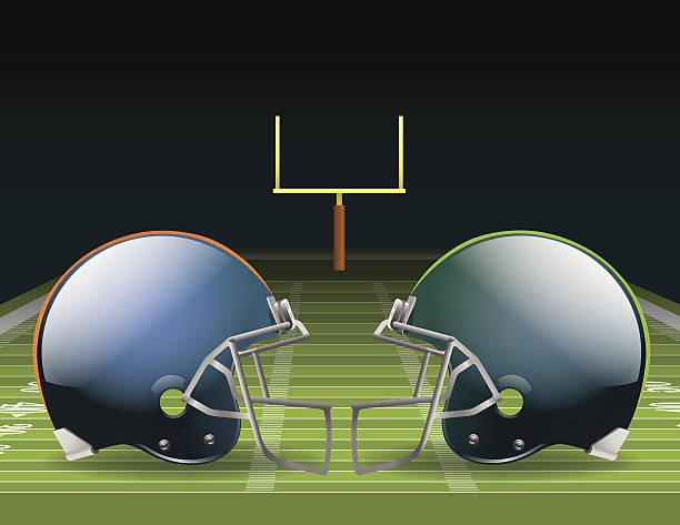 ilustrações de stock, clip art, desenhos animados e ícones de campeonato de futebol - primeiro down futebol americano