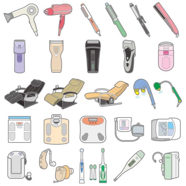 各種電器/健康圖 - hearing aid 幅插畫檔、美工圖案、卡通及圖標