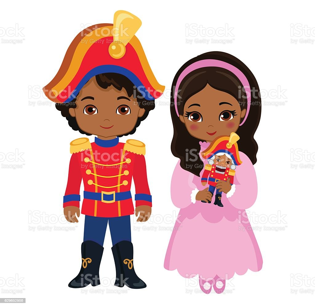 royalty free the nutcracker ballet clip art vector images rh istockphoto com Nutcracker Ballet Stage nutcracker ballerina clipart