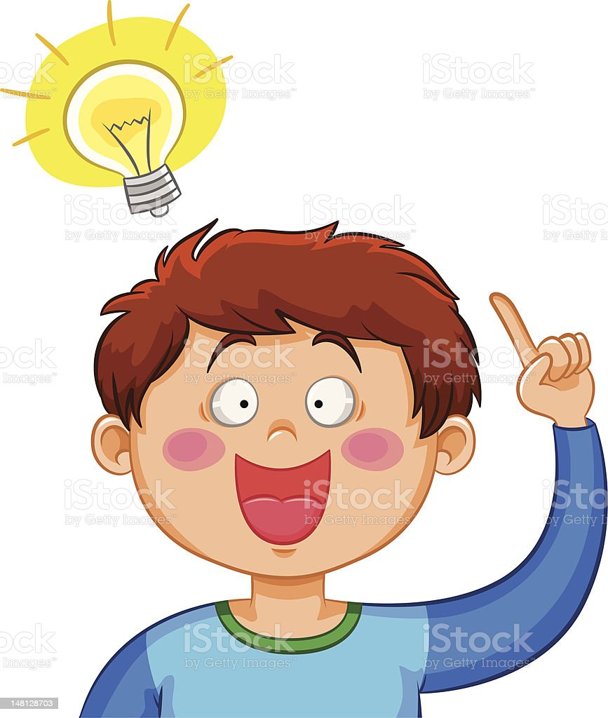 Art Ideas App: Royalty Free Kid Thinking Clip Art, Vector Images