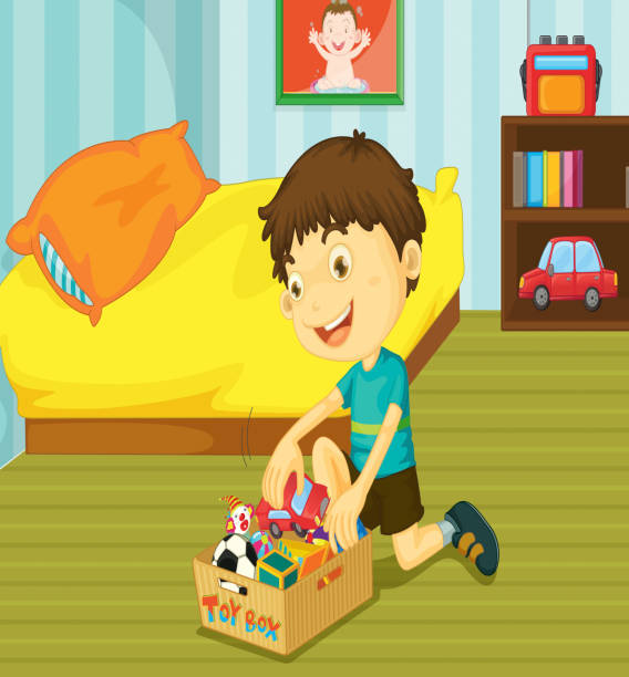 Library of boy clean up toys graphic transparent library png files ▻▻▻  Clipart Art 2019