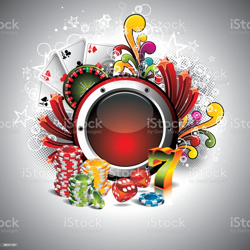 Illustration on a casino theme royalty-free illustration on a casino theme stock vector art & more images of ace