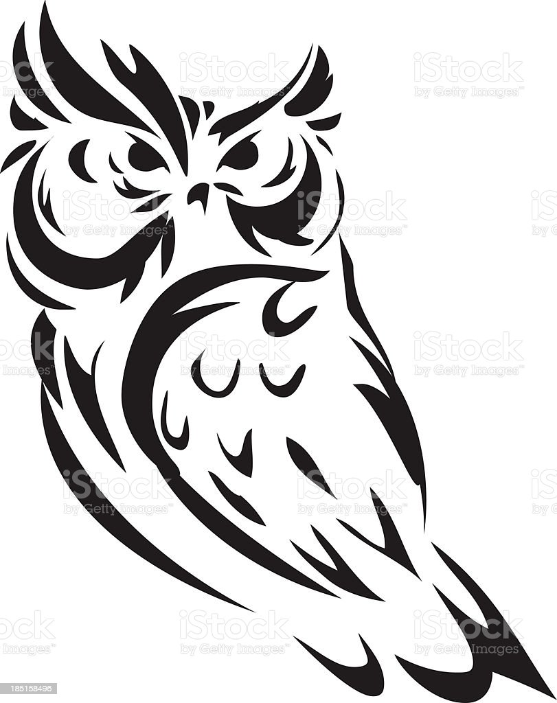 illustration owl stock vector art 185158496 istock