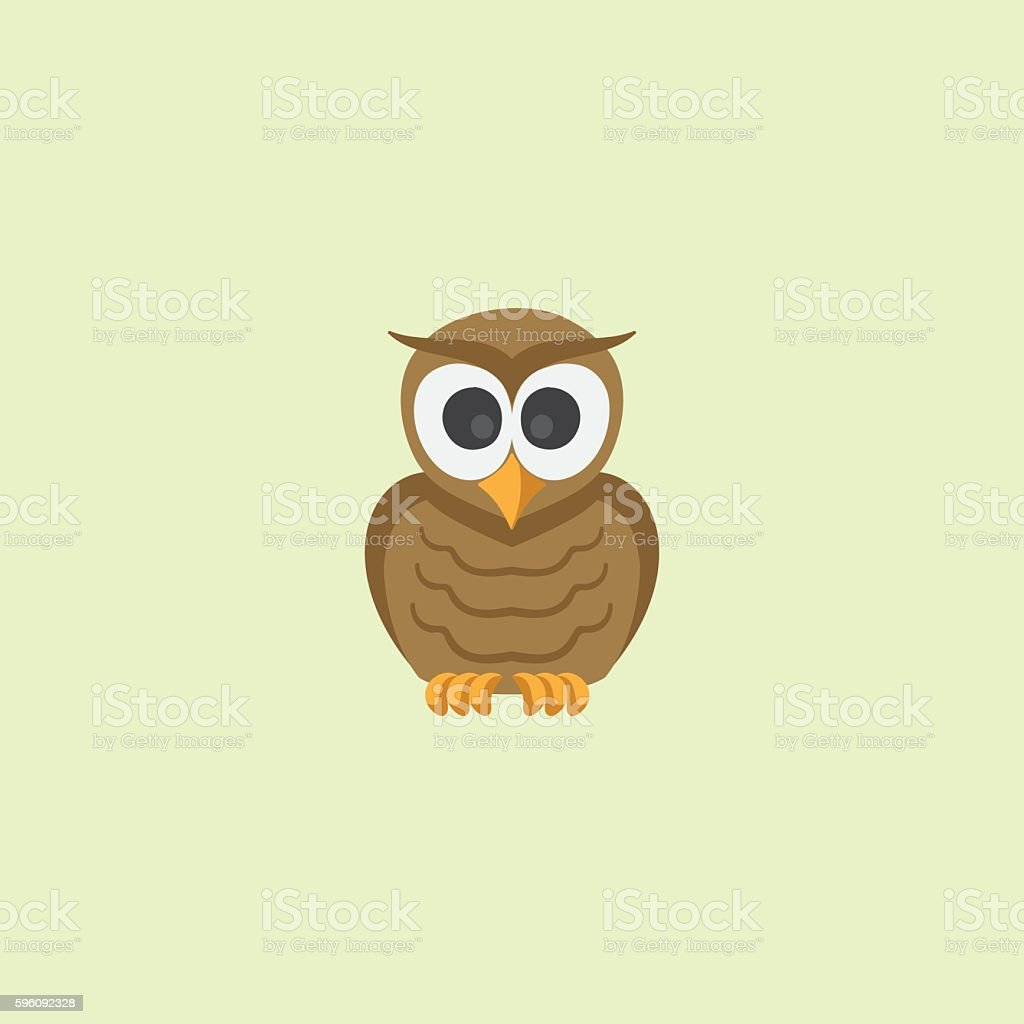 Illustration owl royalty-free illustration owl stock vector art & more images of brown