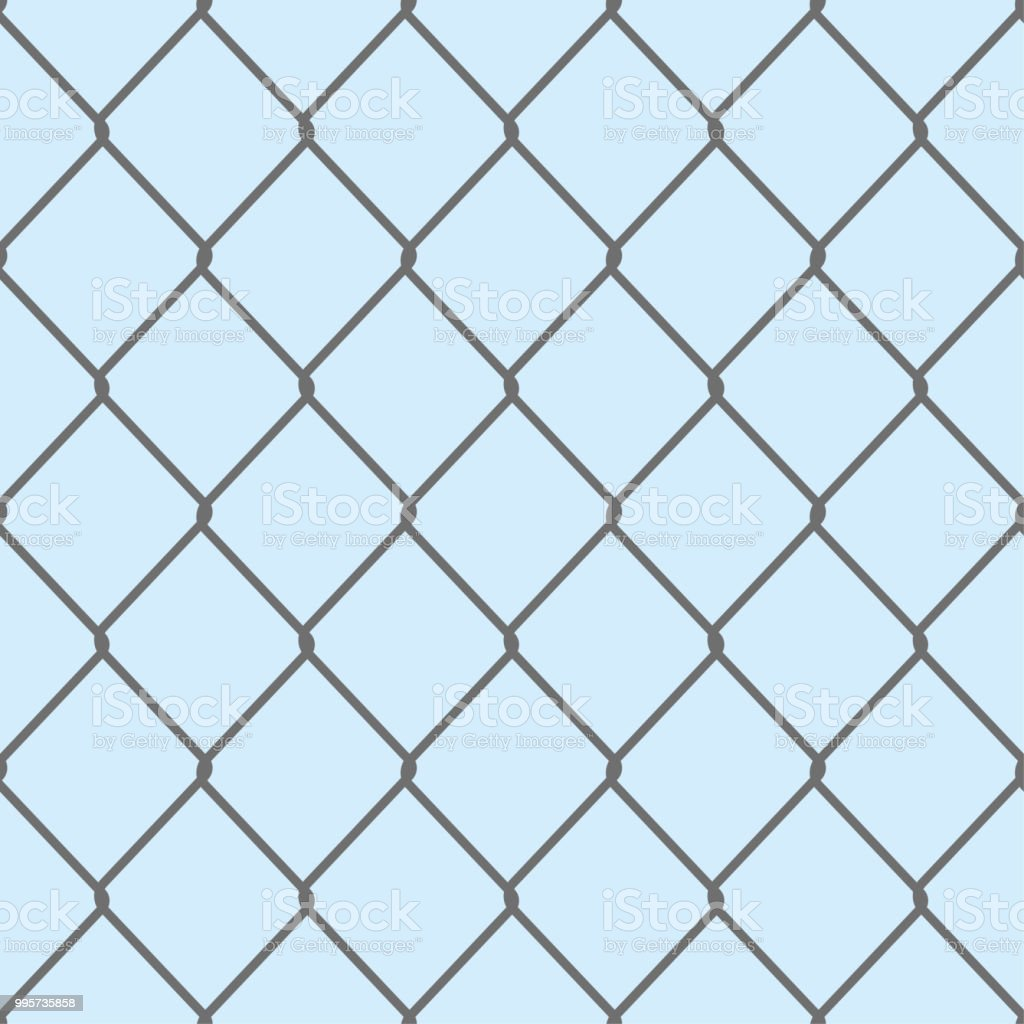 illustration represents a grid background fence protective net ideal