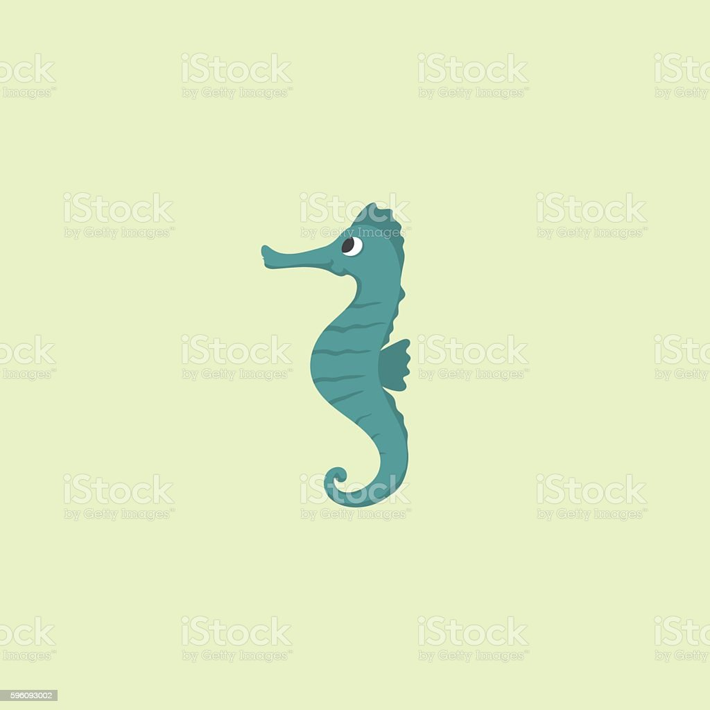 Illustration seahorse royalty-free illustration seahorse stock vector art & more images of blue