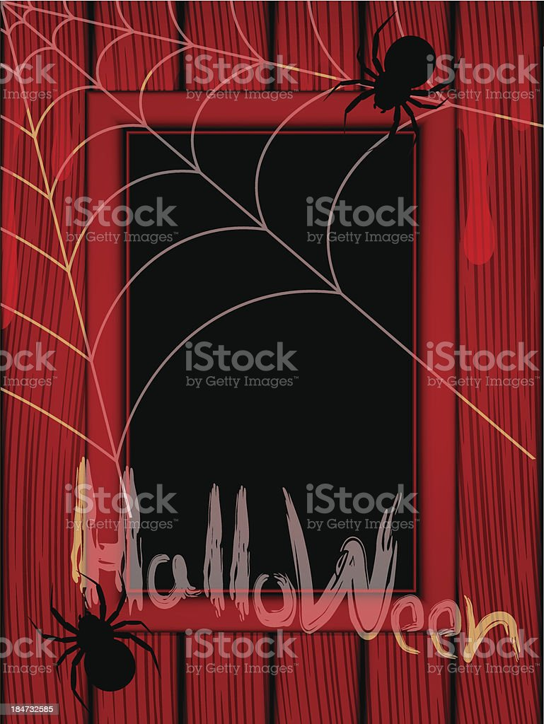 Illustration to the Halloween royalty-free stock vector art