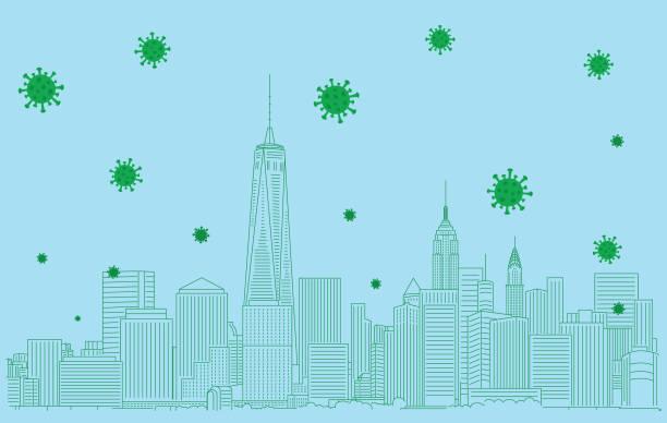 図 - corona newyork点のイラスト素材/クリップアート素材/マンガ素材/アイコン素材