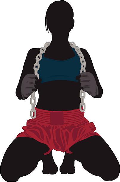 MMA Illustration vector art illustration
