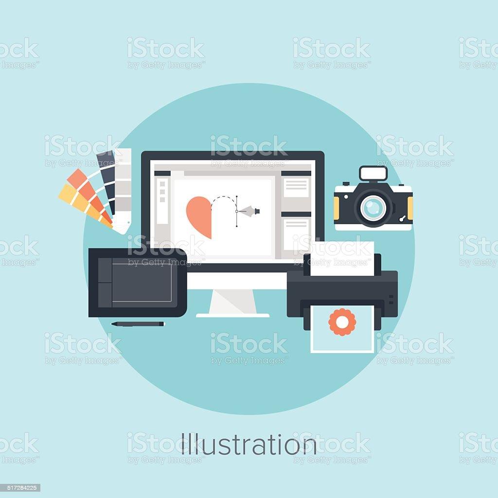 Illustration vector art illustration