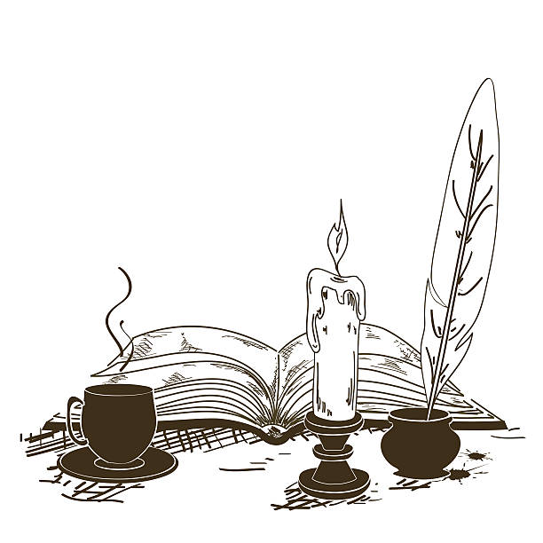 Best Poetry Reading Illustrations, Royalty-Free Vector ...
