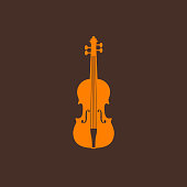 istock illustration with the violin 185432856