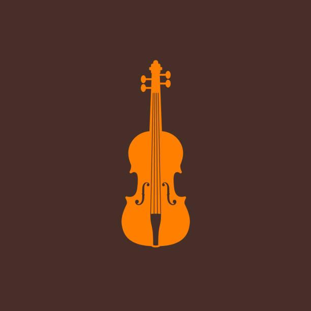 stockillustraties, clipart, cartoons en iconen met illustration with the violin - viool