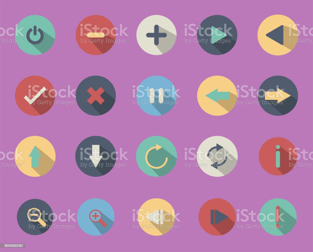 Illustrations Are Icons Or Symbols Used In Business Internet Icon