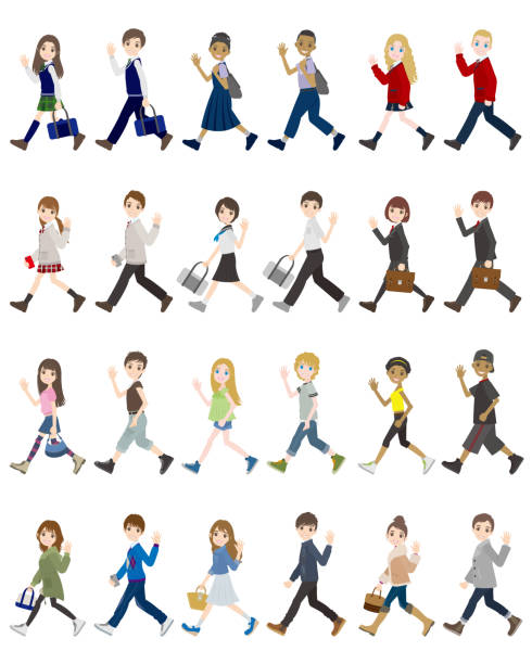 Best Middle School Students Illustrations, Royalty-Free ...