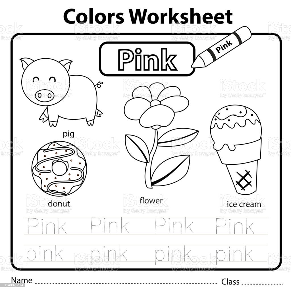 Fuchsia Coloring Page For Kids