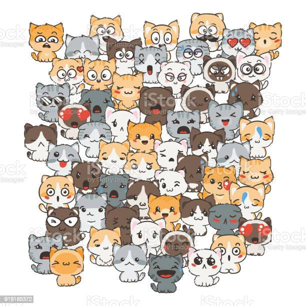Ilustration with cats and dogs for design of posters prints flyers vector id919165372?b=1&k=6&m=919165372&s=612x612&h=4ao  ockuzbzsqa2k g9 rdwhpbkvfiwncrp3b4abo8=