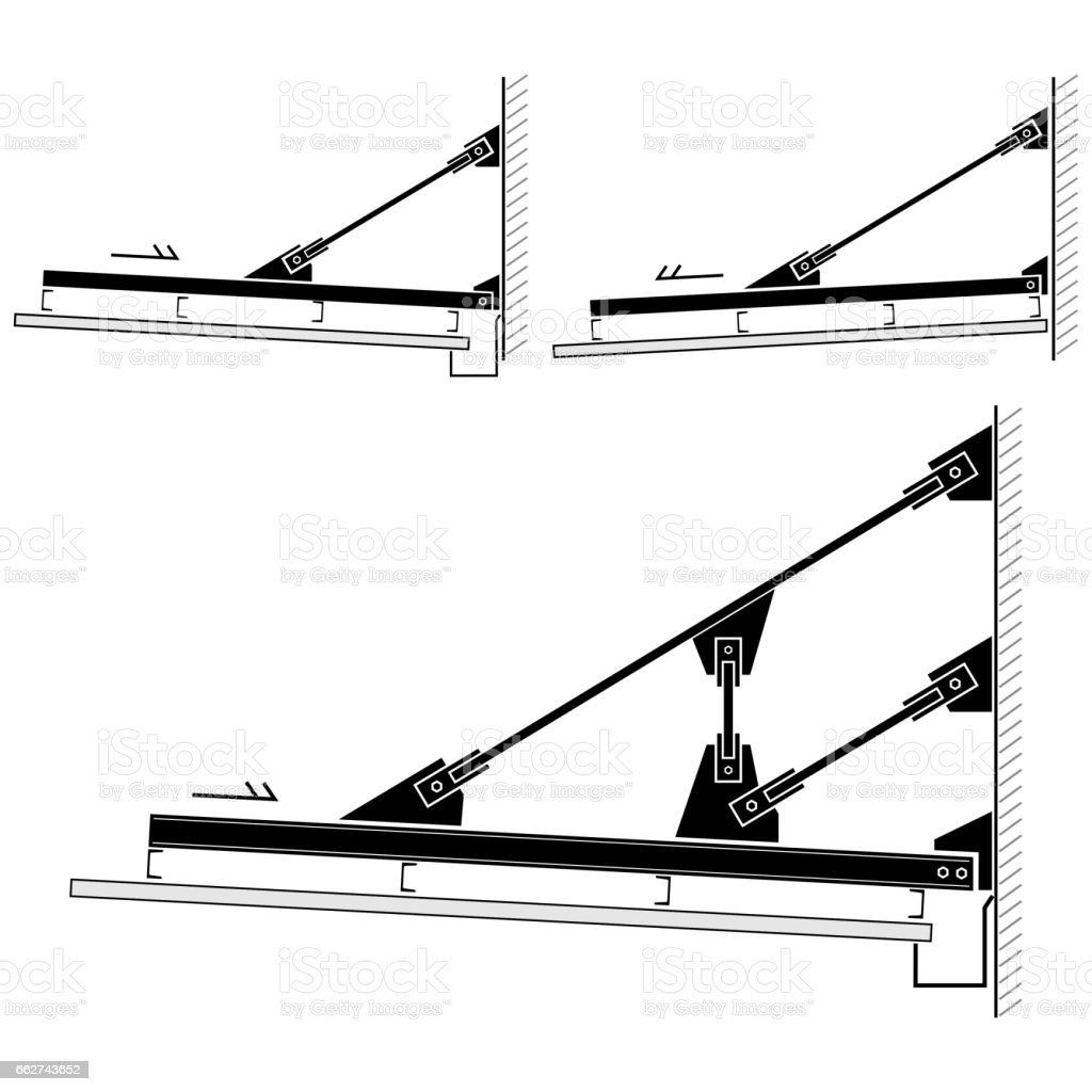 royalty free truss bridge clip art  vector images  u0026 illustrations