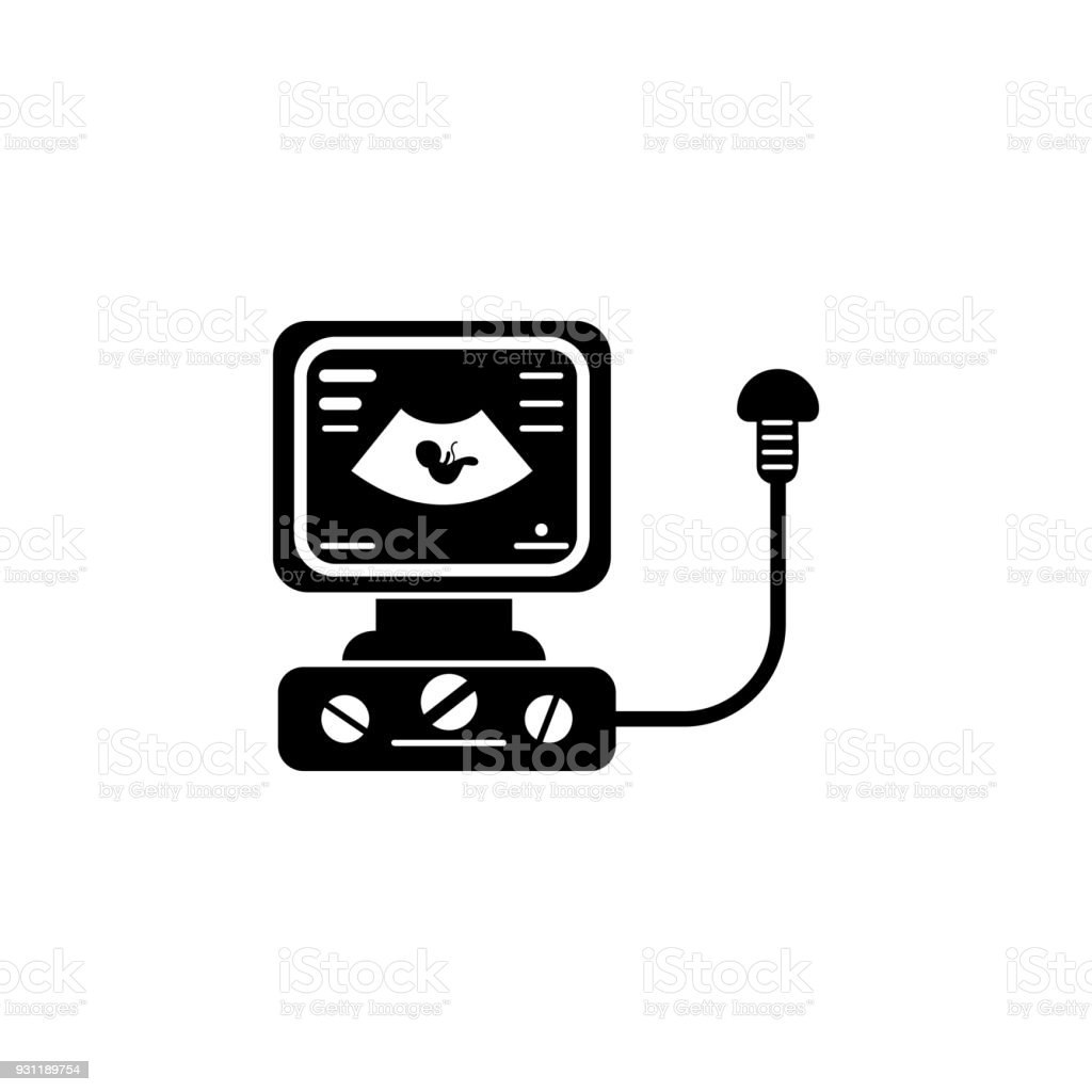 Image Of A Child On Ultrasound Icon Element Of Baby Icon Premium ...