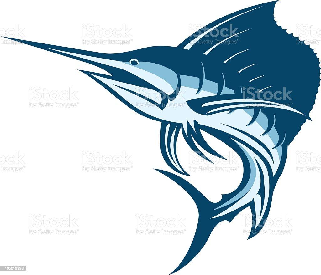 royalty free sailfish clip art  vector images Sailfish Art Animated Sailfish