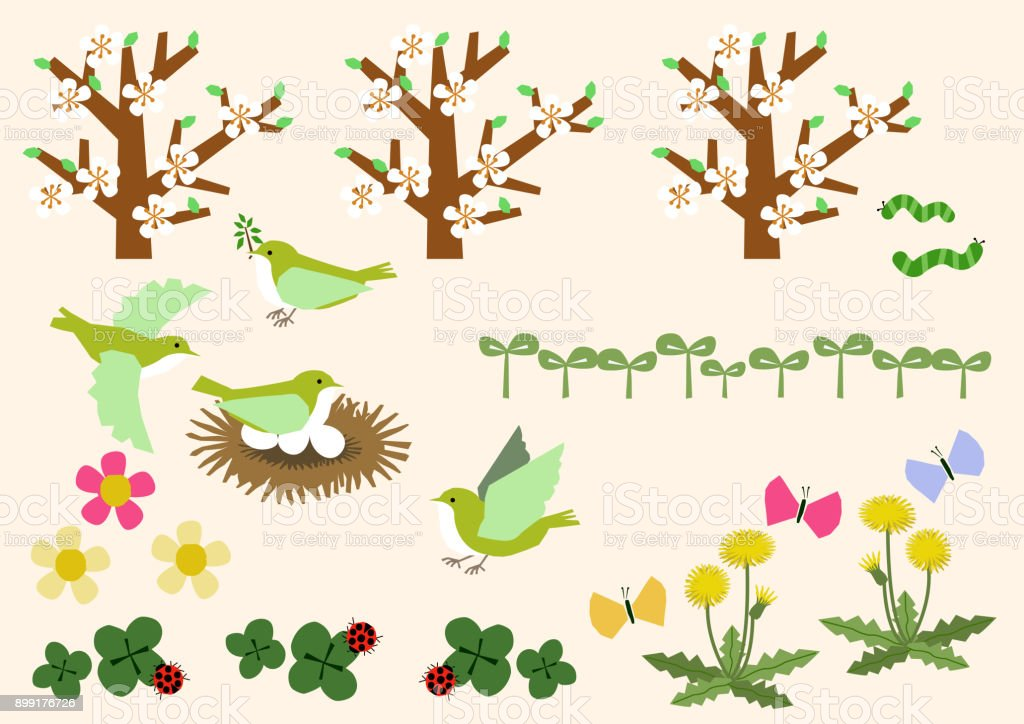Bild Des Frühlings Frühling Stoffsammlung Kalenderclipartgrafiken