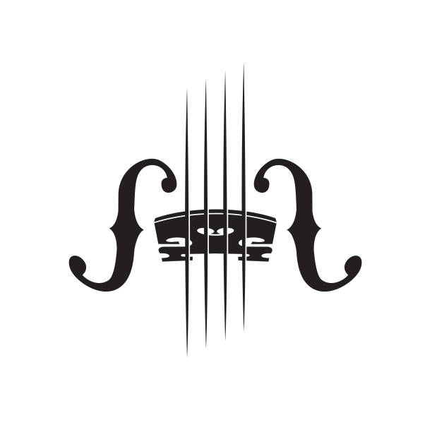 bildbanksillustrationer, clip art samt tecknat material och ikoner med bild av fiol - violin