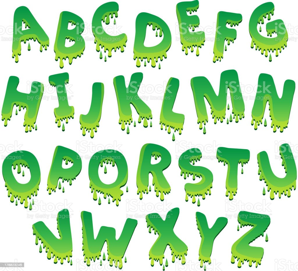 Image with alphabet theme 9 royalty-free stock vector art
