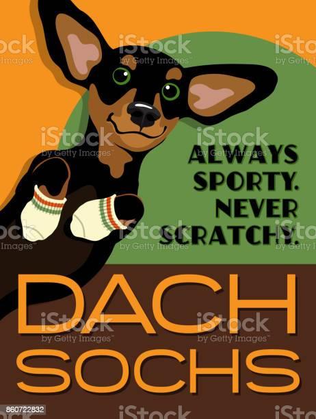 Imaginary poster advertisement with cute dachshund wearing sport vector id860722832?b=1&k=6&m=860722832&s=612x612&h=rzjysz9h vsb ij06mi1lu6h1dixacwzh8op1wsmfg0=