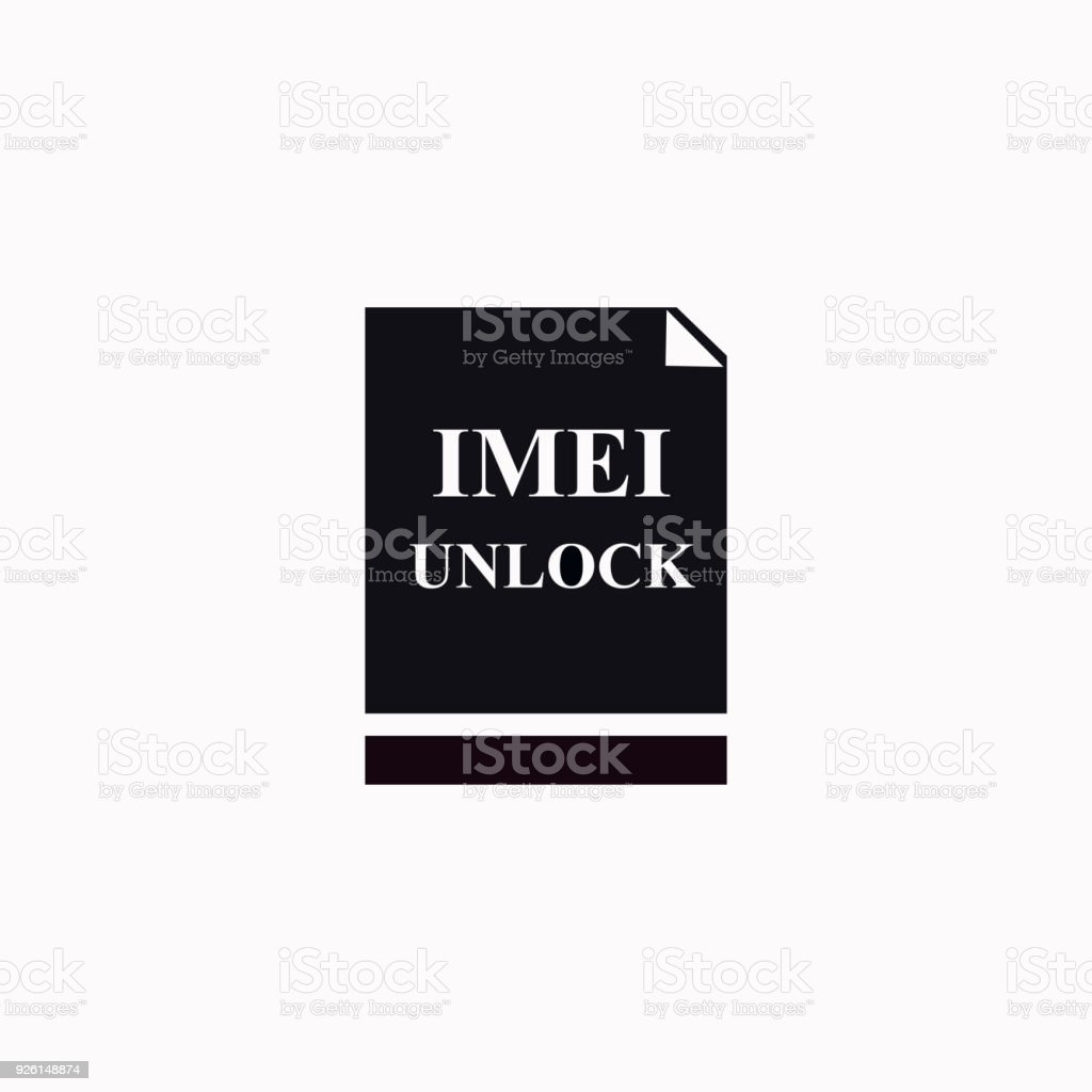 Imei Unlock Vector Icon Stock Vector Art & More Images of