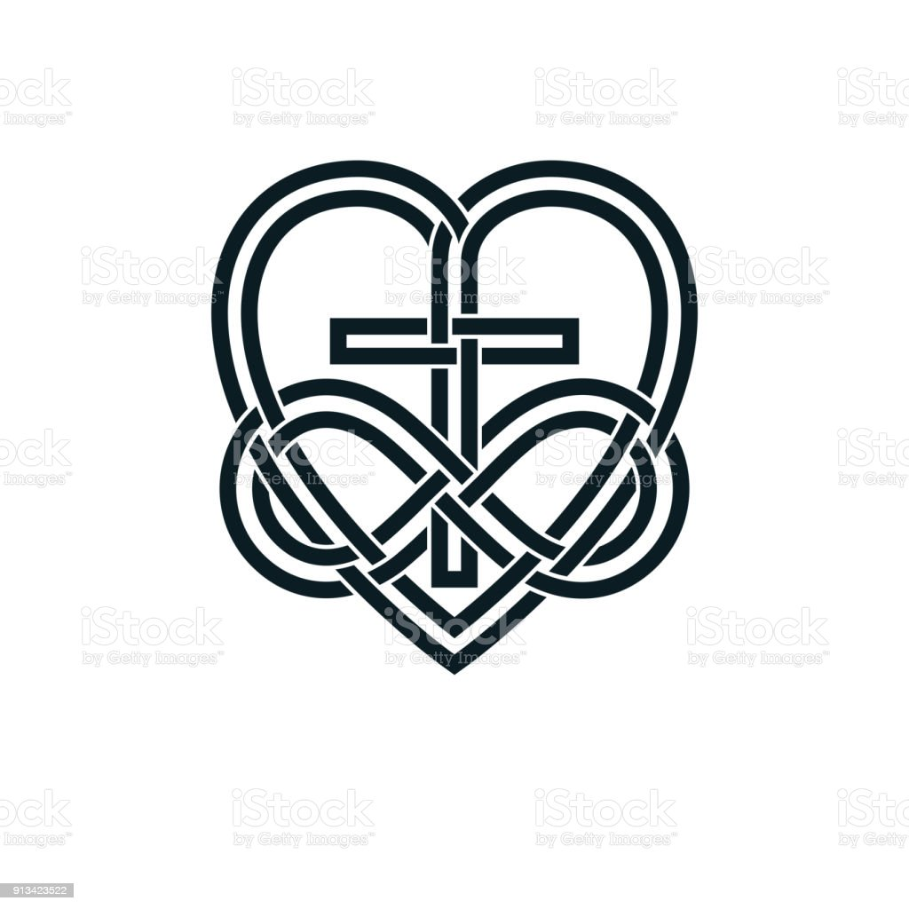 Immortal god christian love conceptual symbol design combined with immortal god christian love conceptual symbol design combined with infinity loop sign and christian cross and buycottarizona Gallery