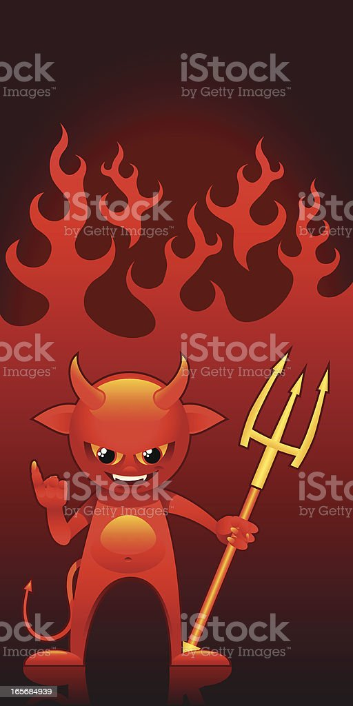 Imp royalty-free stock vector art