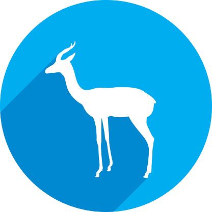 Impala Icon Silhouette