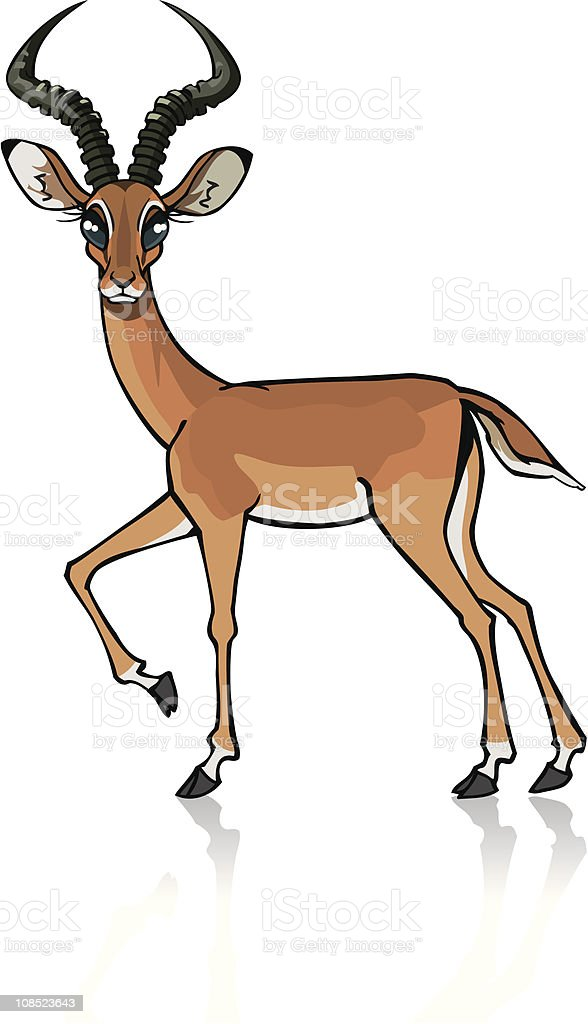 impala royalty-free impala stock vector art & more images of antelope