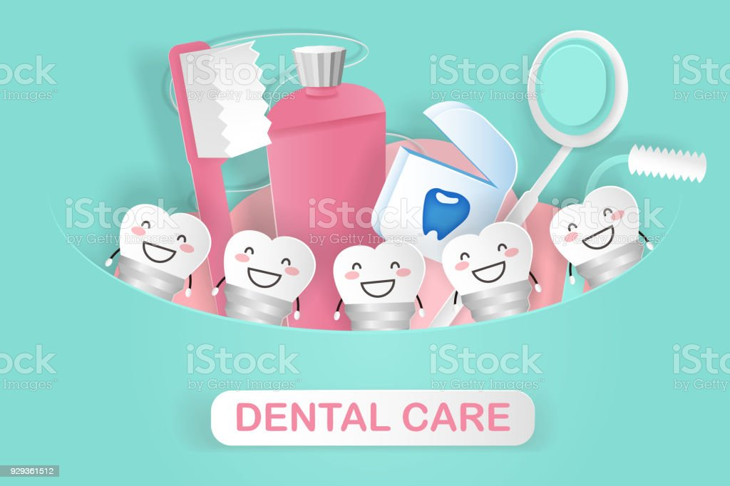 implant dentaire avec soins dentaires implant dentaire avec soins dentaires  – cliparts vectoriels et plus d ecfd2681fc4d