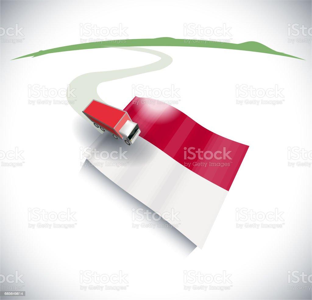 가져오기 및 인도네시아에 수출 royalty-free 가져오기 및 인도네시아에 수출 고속도로에 대한 스톡 벡터 아트 및 기타 이미지